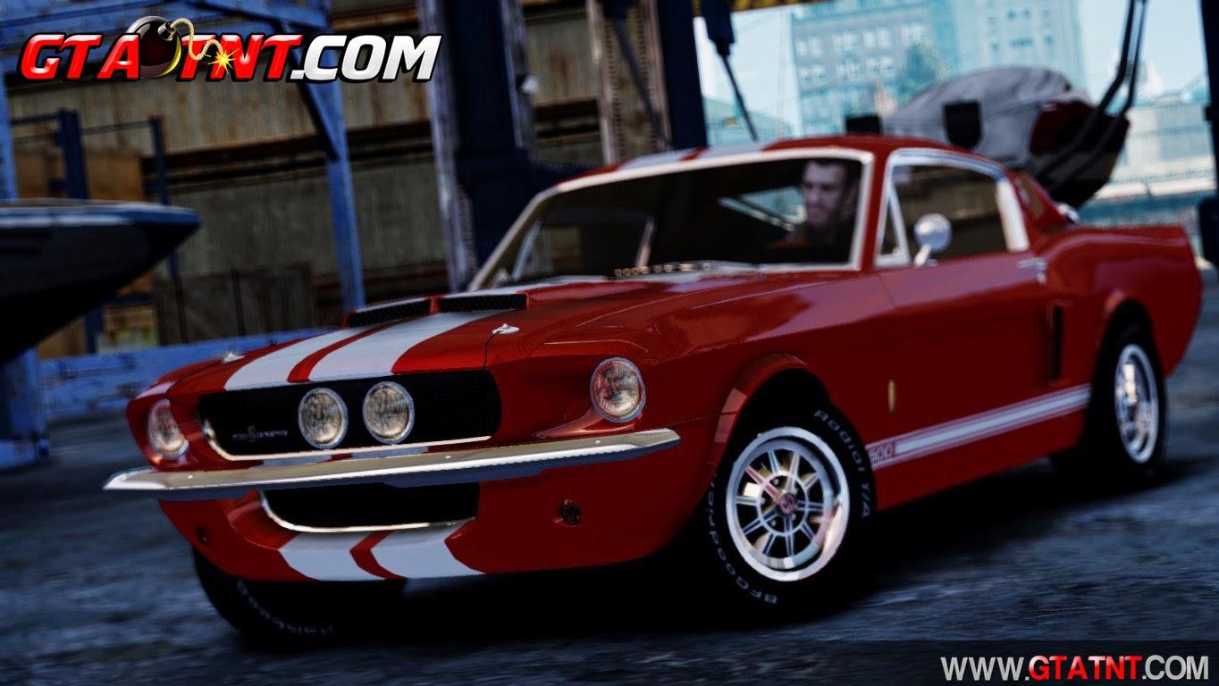 Shelby Cobra GT500 1967 para GTA San Andreas