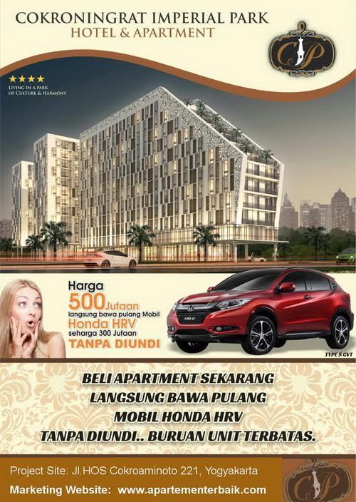 Beli Apartemen Bonus Mobil * Info Wa 08577 909 4977