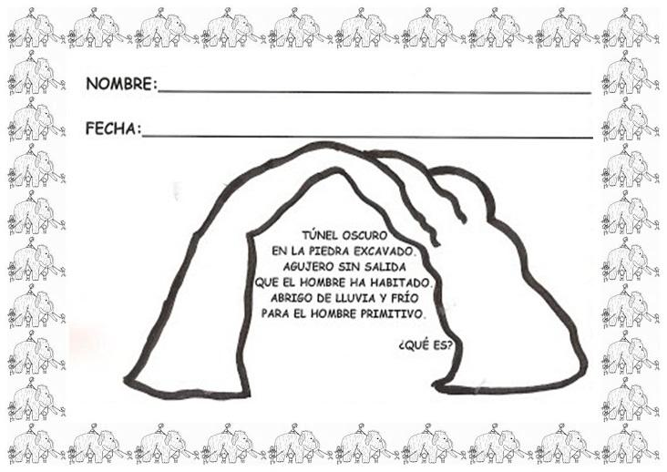 EL BLOG DE LA PROFE MARTA: CUEVAS Y CABAÑAS PREHISTÓRICAS