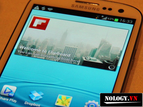 Giao diện của Samsung Galaxy S3 LTE likenew