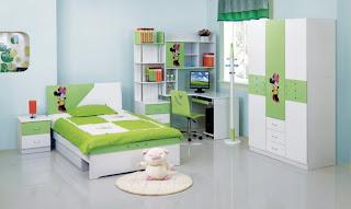 dormitorio infantil celeste