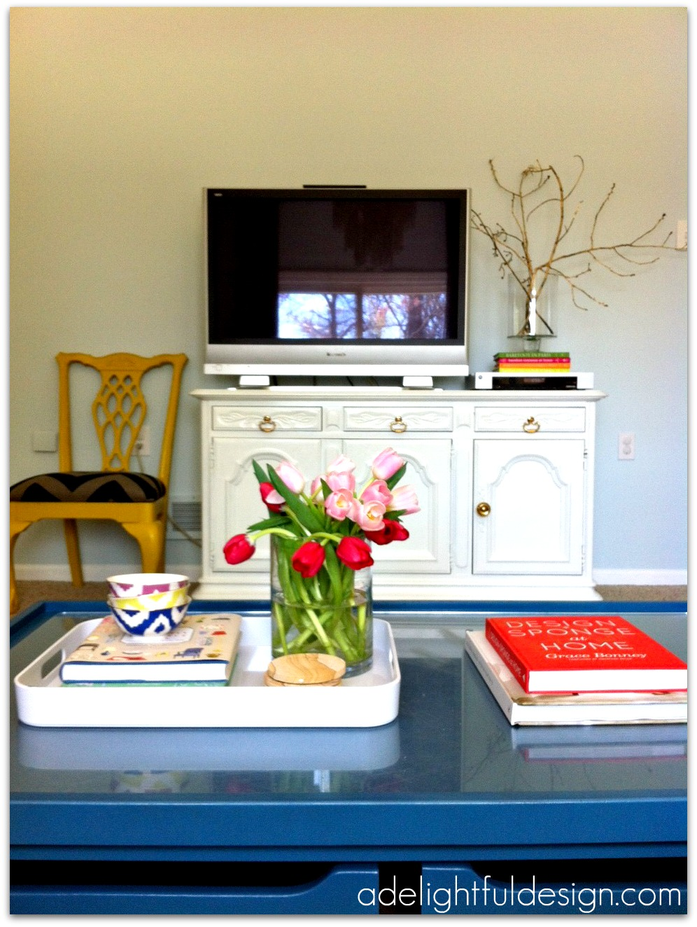 Abby Manchesky Interiors Living Room Before And After