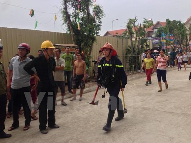Cháy chung cư Mường Thanh