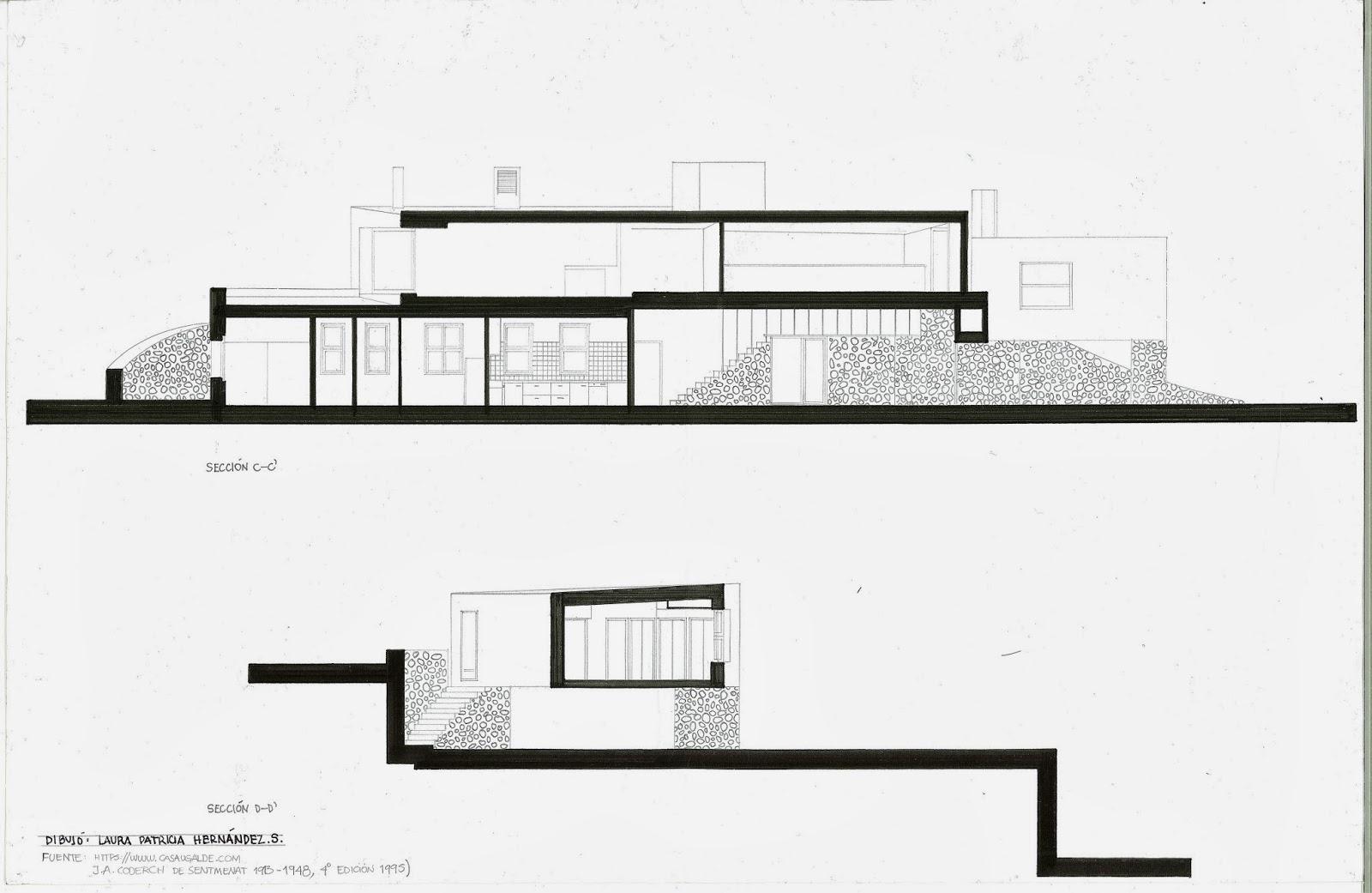 Historia de la arquitectura moderna casa ugalde jose for Historia de la arquitectura moderna