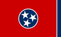 Tennessee Eyaleti Bayrak