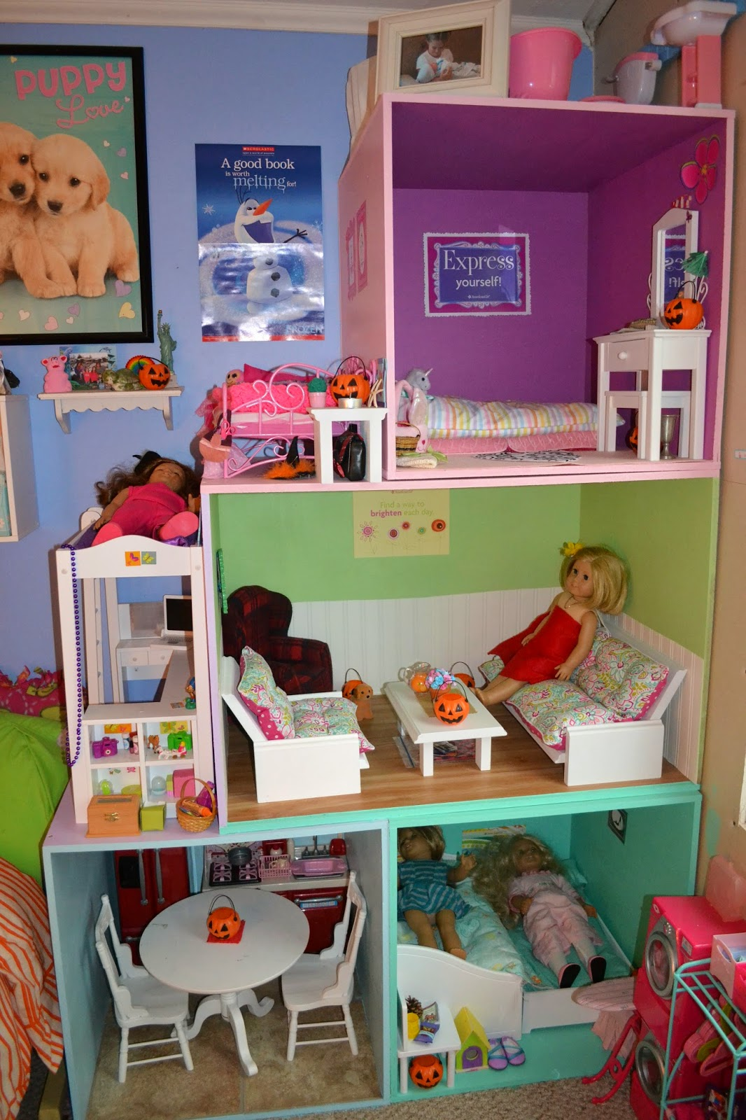 how to make american girl doll stuff at home