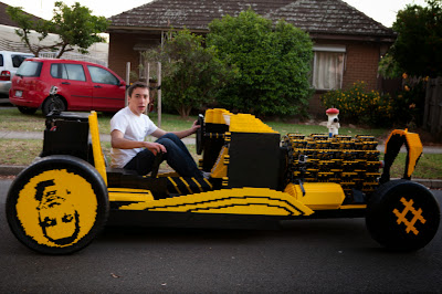 Life size lego car