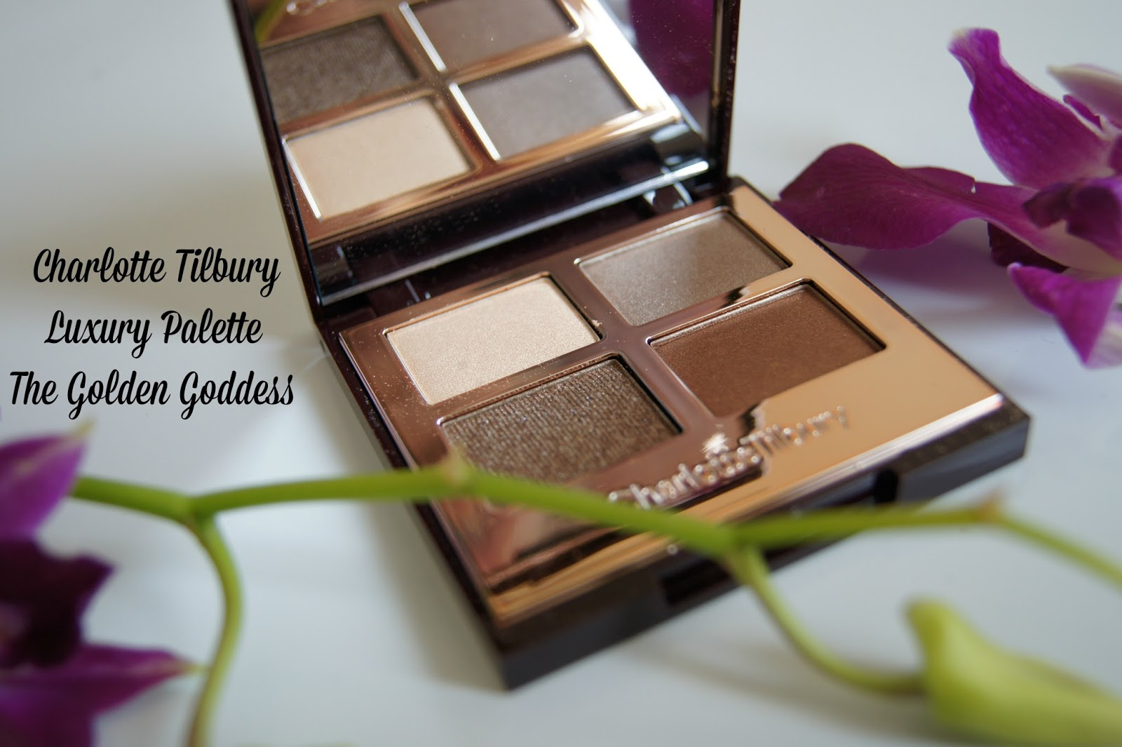 Charlotte Tilbury The Golden Goddess luxury palette review