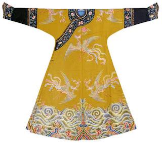 Vestido de fiesta para Concubina Imperial 1736-1795
