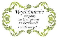Wyróżnienie od Mariolki W , Toja 12