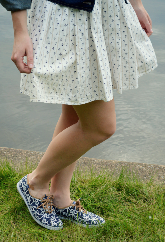 Nautical by Nature | Nautical Outfit of the Week: Organized Mess