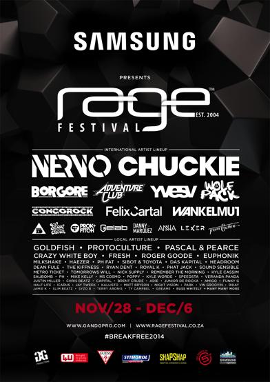 rage festival 2014 #breakfree2014