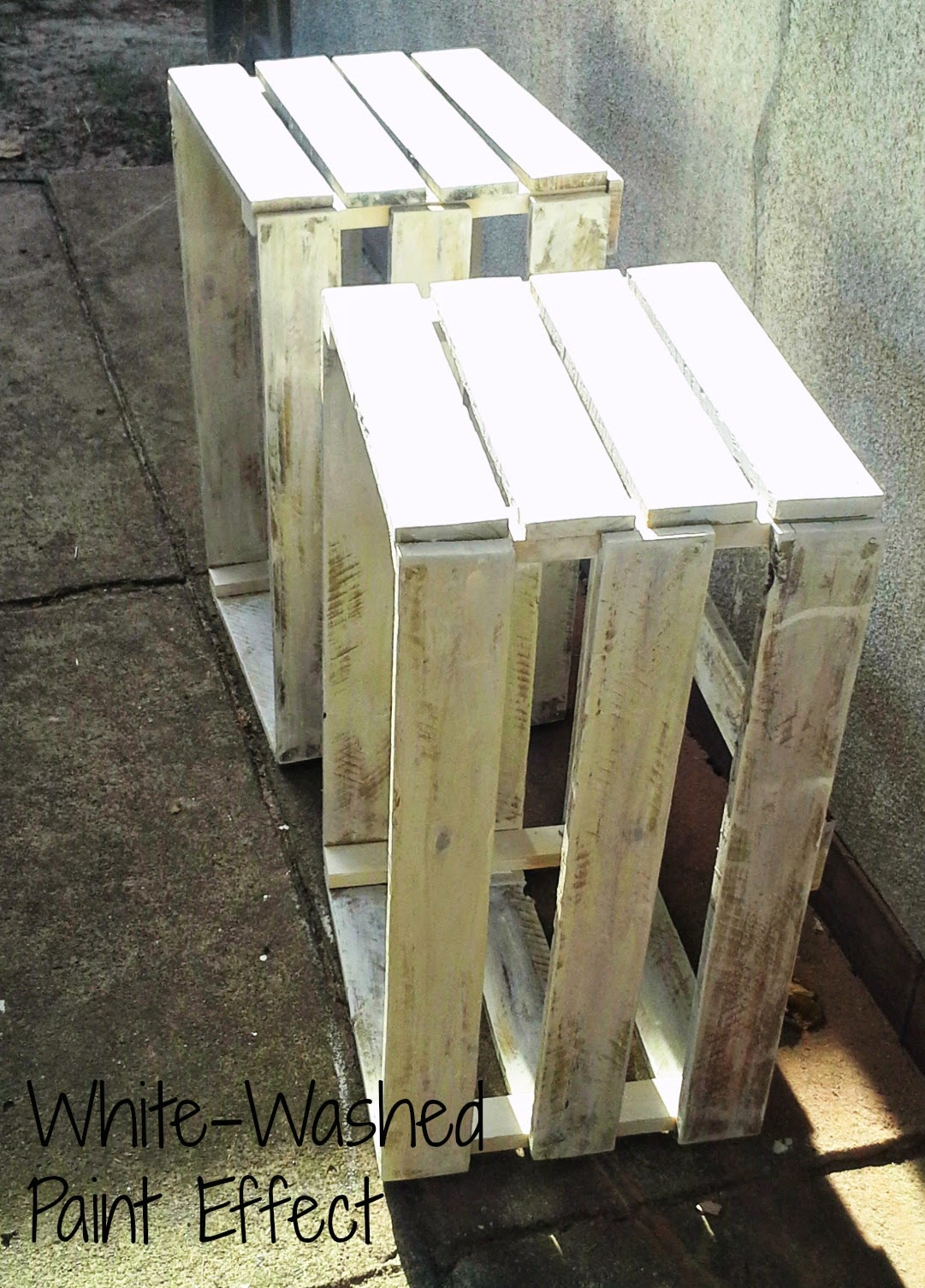 DIY Crate Bedside Tables for Under $50 a Pair - Chamomile and Peppermint Blog Tutorial