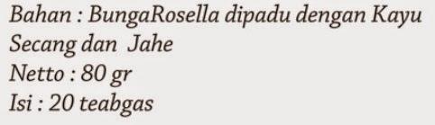STERLAK jual Herbal Natura Rosella Plus pekanbaru