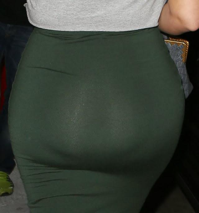 El trasero de Kim Kardashian