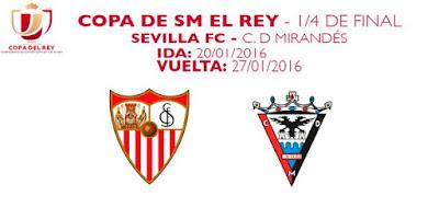 Sevilla Mirandés Copa