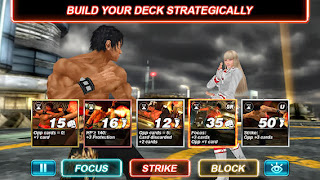 Tekken Card Tournament v1.500 for iPhone/iPad