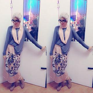 Foto Model Jilbab Zaskia Sungkar Modern New Gaya Hijab Style