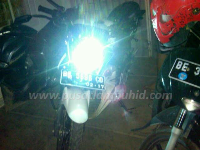 Lampu HID Motor RICHTER biru 8000k