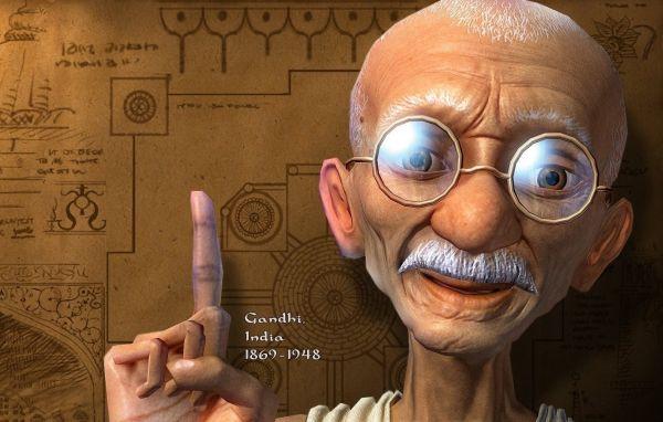 La vida es un espejo - Hermosa reflexión. Mahatma Gandhi