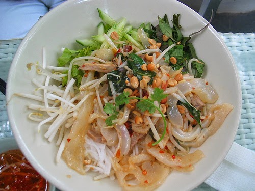 Jelly Fish Noodles (Bún Sứa)