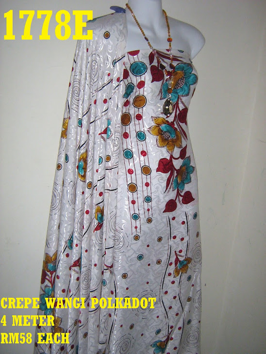 CWP 1778E: CREPE WANGI POLKADOT, 4 METER