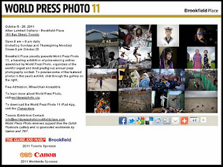 2011 World Press Photo 11, Brookfield Place, Toronto, October 6-26, screenshot
