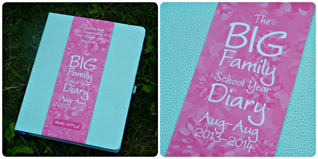 Mum's Office BIG Family School Year Diary Peppermint