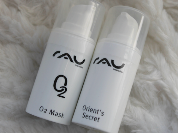 Rau Cosmetics O2 Mask & Orient's Secret.