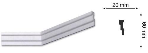 Sanca Nomastyl M2 - 6 cm de largura