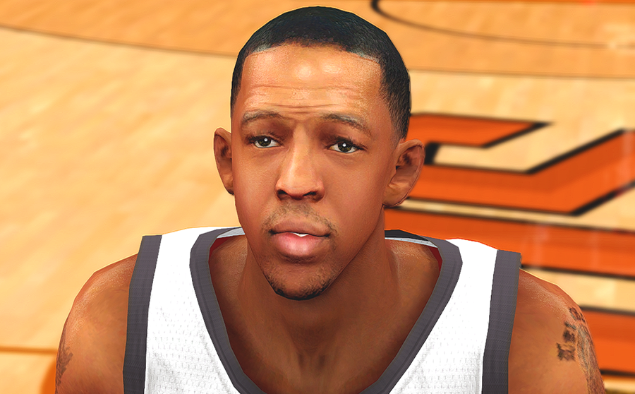 NBA 2K14 Channing Frye Cyberface Patch