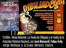 Sábado 6 de abril, 15 horas, en DIBUJADOS