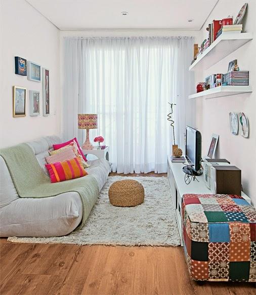 decoracao de sala pequena simples e barata : decoracao de sala pequena simples e barata:De Sala Simples E Pequena E Barata – Decoração de sala pequena