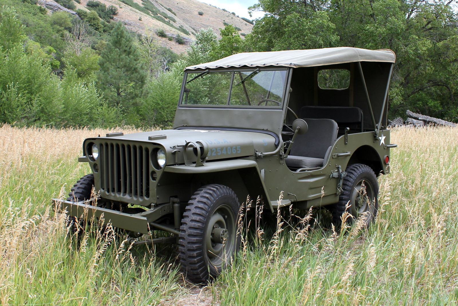Related Pictures 1943 Willys Mb Jeep Restoration Project Car Interior Design