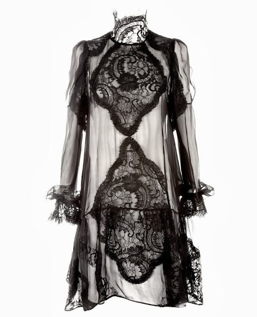 Givenchy Black Lace Dress