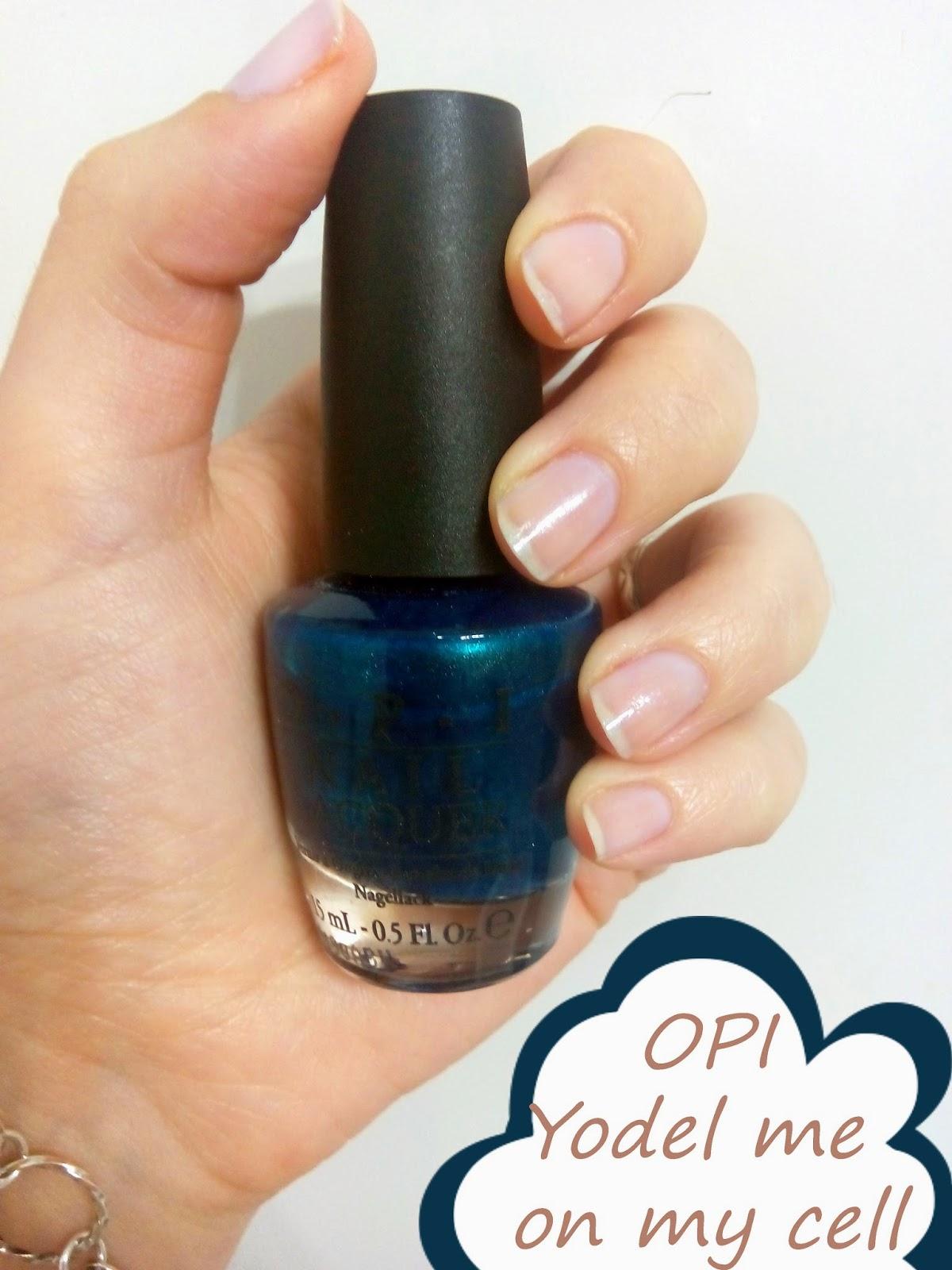 opi esmalte azul