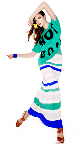vestidos largos verano 2011