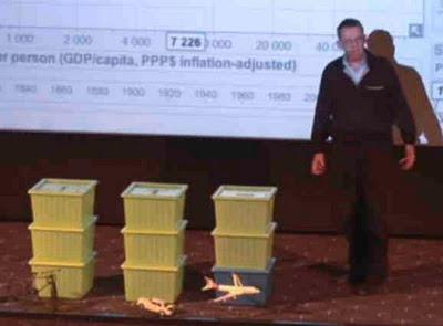 Hans Rosling, Kistaföreläsning
