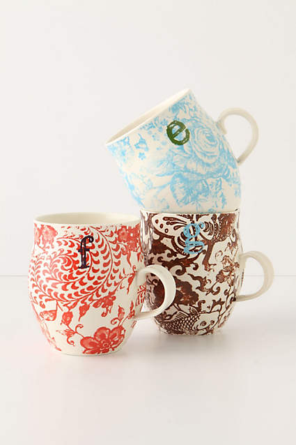 anthropologie holiday gift ideas decorative mugs designer decorator