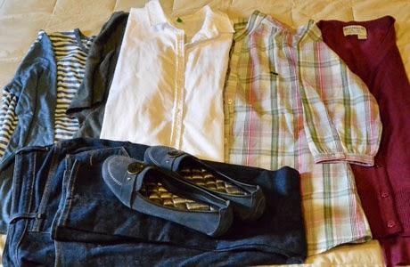 Equipaje ligero, ropa, prendas de vestir