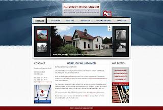 Bauservice Siegmund Webseite von Bitskin