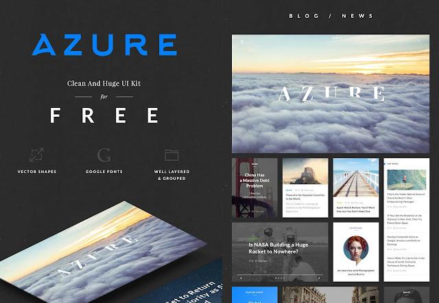 Free Azure Ecommerce UI Kit