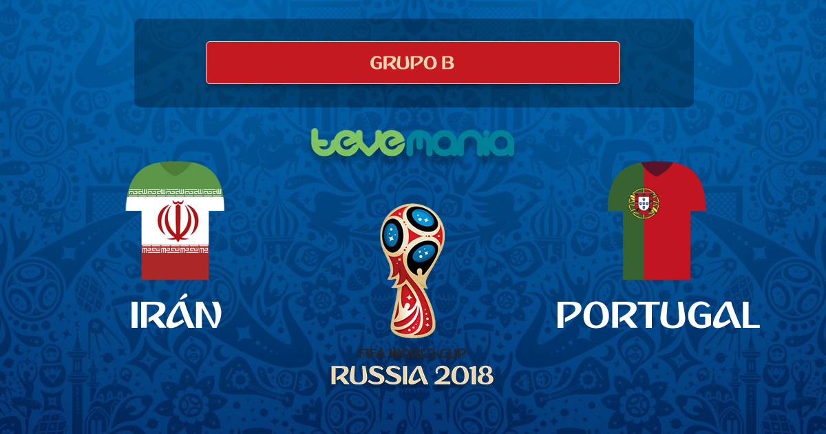 Portugal empata 1-1 contra Irán y son segundos del Grupo B
