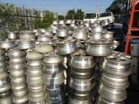 scrapping aluminum rims