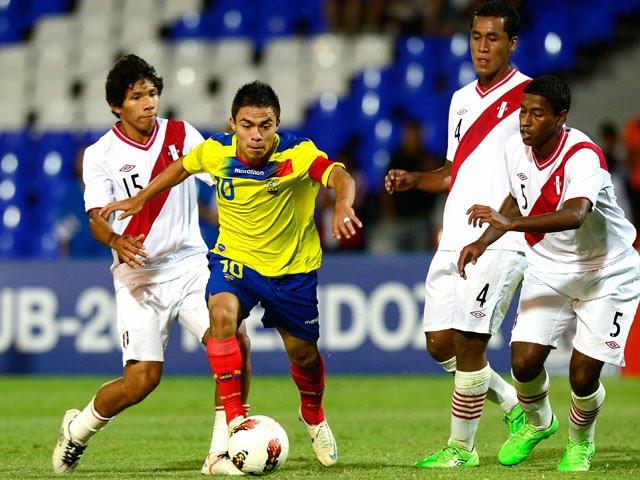 Ecuador vs Peru en vivo