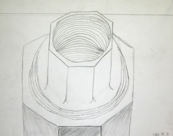 Contour Line Drawing Objects : Mr fox visual art foundations