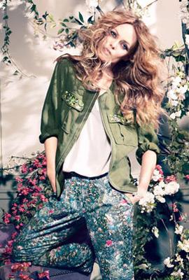 HM Conscious colección primavera 2013 chaqueta mujer