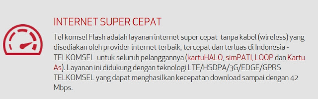 INTERNET SUPER CEPAT FLASH