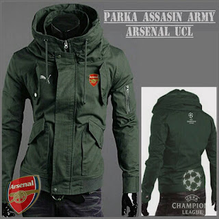 Jaket Parka Army Arsenal
