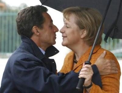 Sarkozy Merkel nude